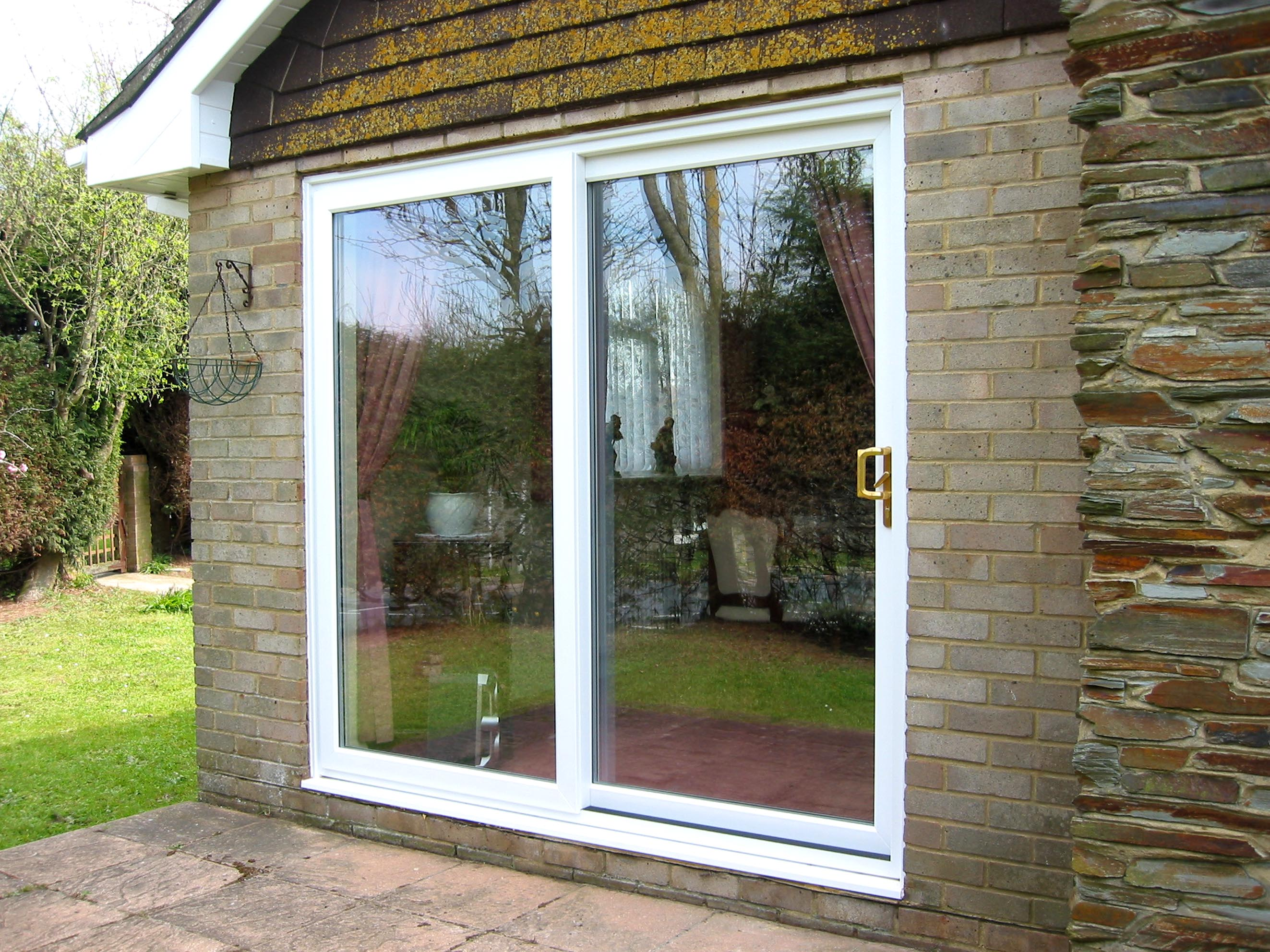Windows doors two brothers glass for Quality patio doors